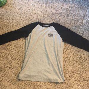 Vans 3/4 length boys t-shirt 14